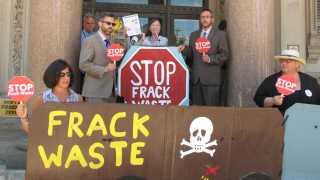 Environmentalists Mobilize Support to Overturn Christie on Fracking Waste