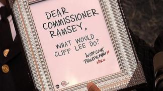 Hey Commish, What Would Cliff Lee Do?