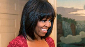 Dramatic Hair Transformations: Michelle Obama