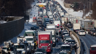 Major Pileup on Pa. Turnpike