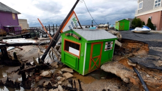 Dramatic Sandy Damage