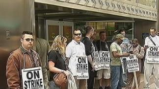 SEPTA Police Take to the Picket Line