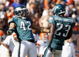 By the Numbers: Eagles vs. Browns