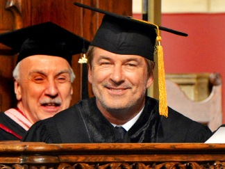 Celebrity Brainiacs: Alec Baldwin's Third Honorary Doctorate