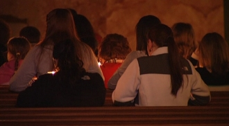 Vigil for Boston Bus Crash Victims