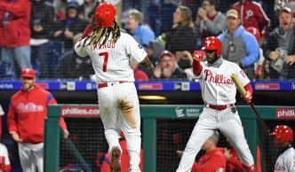 Phillies 7, Brewers 4: Phillies Rally Back Twice to Down Brewers on a Long, Cold, Miserable Night