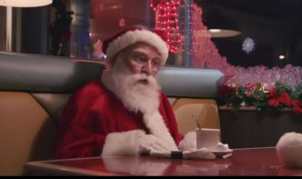 Santa Has a Heart-to-Heart Chat With a Snowball in Philly