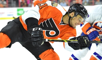 Flyers Stock Watch: Scott Laughton Seeing Increased Production, Ice Time