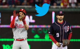 Phillies Crush Nationals With Epic Ariana Grande Clapback in Twitter Beef Over Bryce Harper