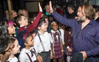 Jack Black Surprises 'School of Rock' Cast