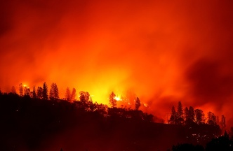 Massive N. California Fire Still Rages After Killing at Least 29