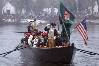 Philly Students Save Annual Christmas Washington Crossing