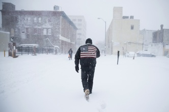 Blizzard Declared at Wind-Battered Jersey Shore