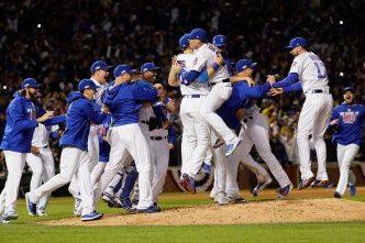 Dodgers Pay #Respect After Loss to World Series-Bound Cubs