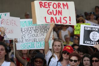 Florida Students Announce March in Washington D.C for Gun Law Change