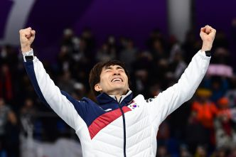 S. Korea Wins Its First Speedskating Gold in Pyeongchang