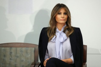 Melania Trump in Philly to Talk Opioids' Effects on Babies