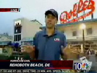 Earl Approaching: Rehoboth Beach Report @ 6:37 a.m.