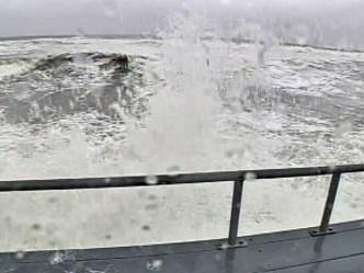 Earl Kicks Up Surf in Brigantine
