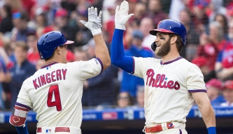 Scott Kingery Likely to Play at Lakewood on Monday; Phillies' DH Plans for Weekend