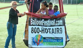 Camden Kids Get to Try Out a Hot Air Balloon