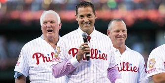 Pat Burrell: Induction to Phils' Wall of Fame 'overwhelming'