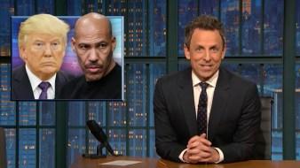 'Late Night': A Closer Look at Trump vs. LaVar Ball