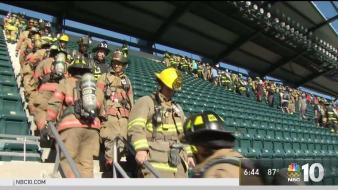 Philly Firefighters Make 9/11 Memorial Stair Climb
