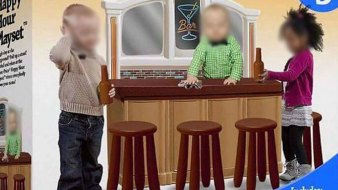 Photo of Fake 'Happy Hour Playset' Sparks Online Outrage