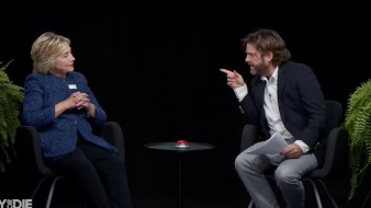 Clinton Takes On Zach Galifianakis on 'Between Two Ferns'