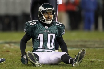 DeSean Benched After Dropping 2 TDs