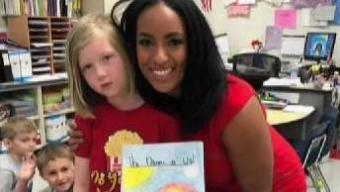 NBC10 Meteorologist Brittney Shipp Visits School Kids