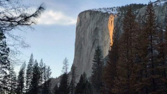 'Firefall' Returns to Light Up Yosemite National Park