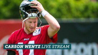 Live Stream: Carson Wentz's First Day of Eagles OTAs