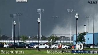 Storm Chaser Video of Moore Tornado