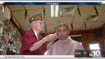 100-Year-Old Barber Keeps Working