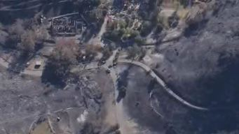 Third Body Discovered in Fire Zone North of LA