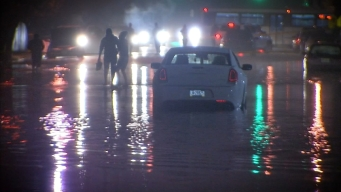 Heavy Rain Leads to Flooding During Evening Commute