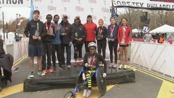 2015 Philadelphia Marathon List of Winners
