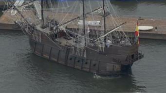 Tall Ships Sail Into Philadelphia