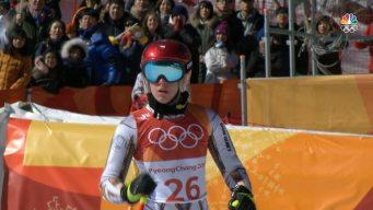 Snowboarder Ester Ledecka Wins Shocking Alpine Skiing Gold