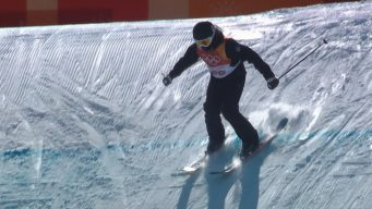 'I Was Crying': Freeskier Wins Silver After Head Injury, Doctors' OK