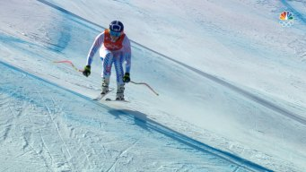 Shiffrin Uses Downhill Training to Prepare for Combined