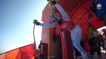 Lindsey Vonn Takes Final Downhill Training Run