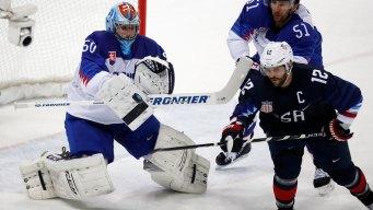 Recap: USA 5, Slovakia 1