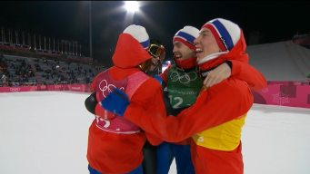 Mustache-Clad Johansson Delivers Norway's Large Hill Gold