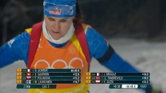 U.S. Biathlon Down to Final Chance to Earn 1st Olympic Medal