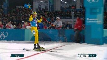 Lindstroem Vs. Svendsen: Sweden Wins Relay on Final Leg
