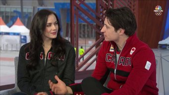 Tessa Virtue, Scott Moir on Relationship Rumors, Rivalries