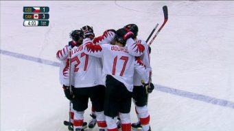 Derek Roy Doubles Canada's Advantage